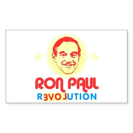 Ron Paul 2012 Rectangle Sticker