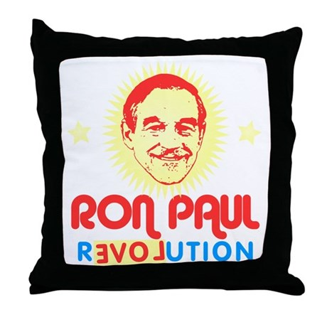 Ron Paul 2012 Throw Pillow