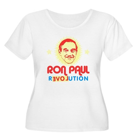 Ron Paul 2012 Plus Size Scoop Neck Shirt