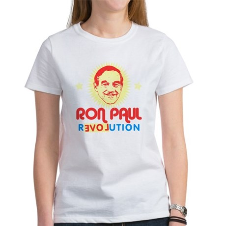 Ron Paul 2012 Womens T-Shirt