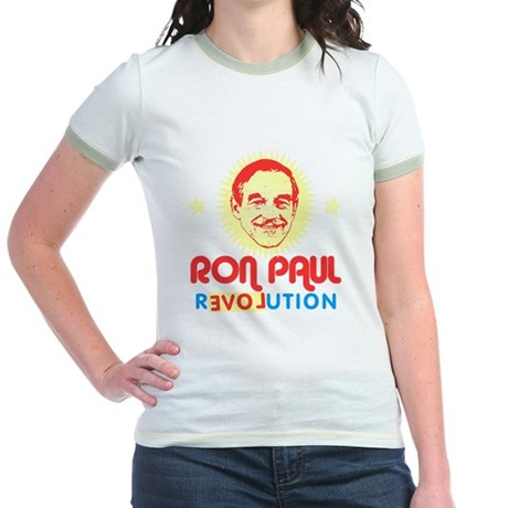 Ron Paul 2012 Jr Ringer T-Shirt