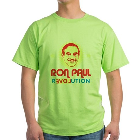 Ron Paul 2012 Green T-Shirt