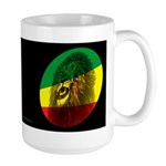 Reggae Lion Light Large Mug
