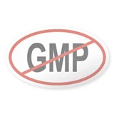 GMP Oval Decal