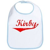 Kirby Vintage (Red) Bib