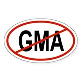 GMA Oval Decal