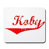 Koby Vintage (Red) Mousepad