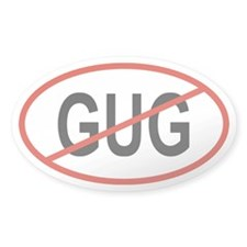 GUG Oval Decal