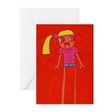Hikaru's 'Blondie' Greeting Cards (Pk of 10)