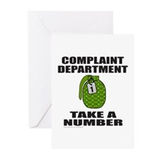 COMPLAINT DEPARTMENT Greeting Cards (Pk of 20)