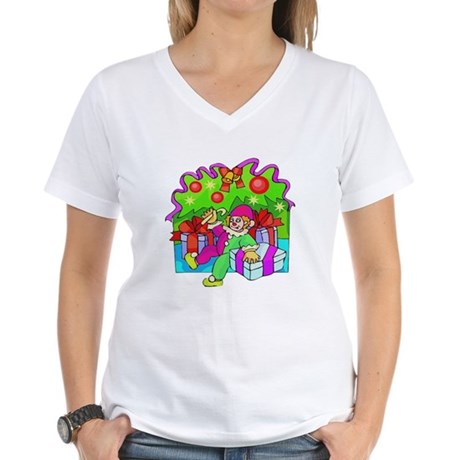 Under the Tree Women's V-Neck T-Shirt