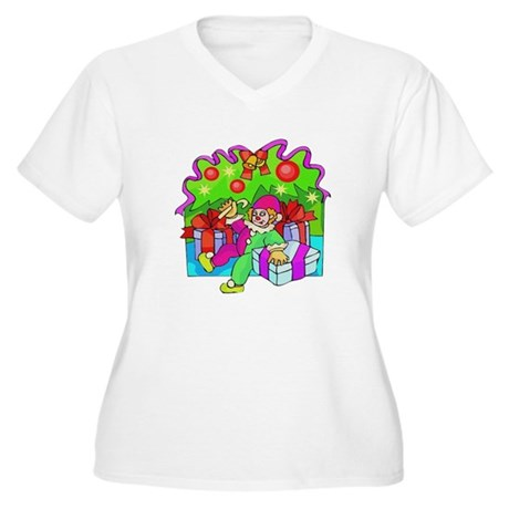 Under the Tree Women's Plus Size V-Neck T-Shirt