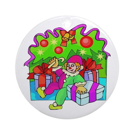 Under the Tree Ornament (Round)