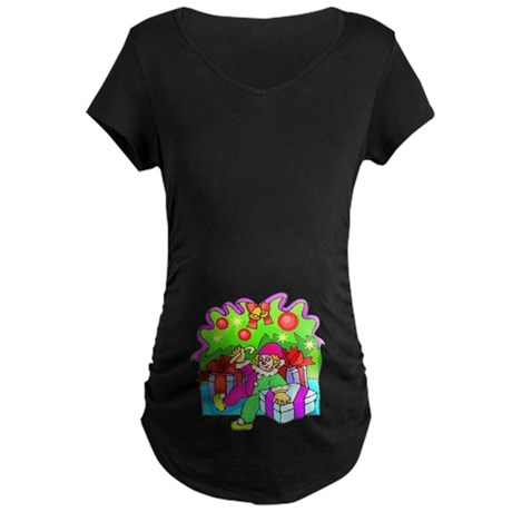 Under the Tree Maternity Dark T-Shirt