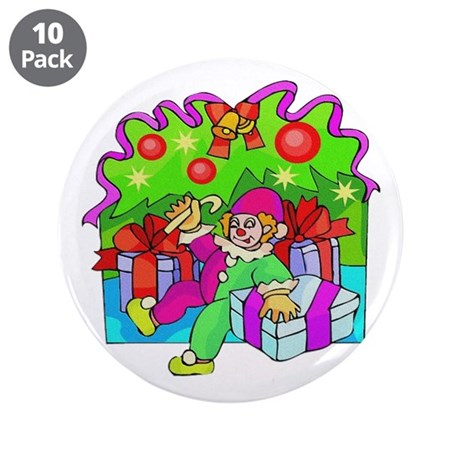 "Under the Tree 3.5"" Button (10 pack)"