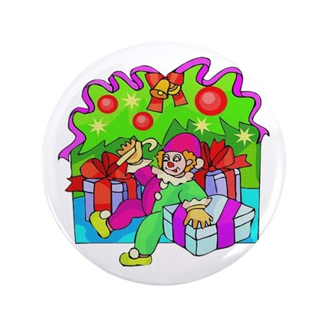 "Under the Tree 3.5"" Button (100 pack)"