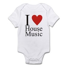 i_love_house Body Suit