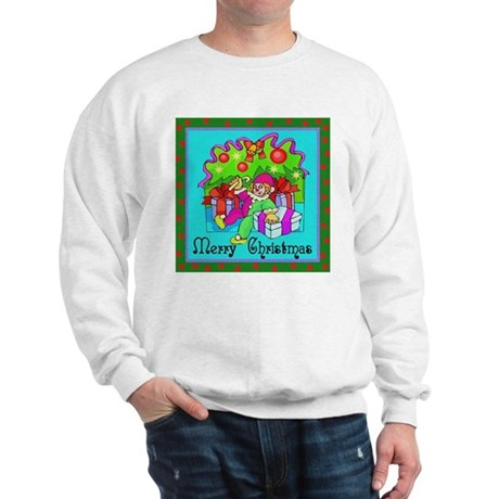 Merry Christmas Clown Sweatshirt