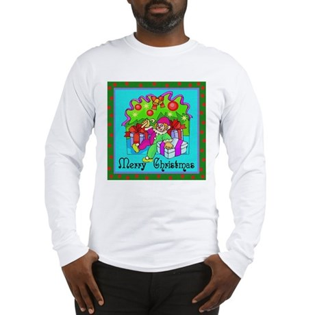 Merry Christmas Clown Long Sleeve T-Shirt
