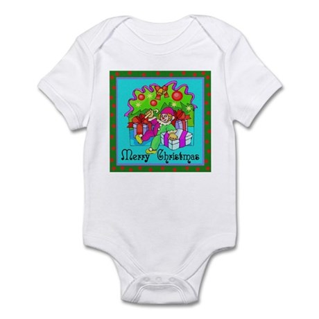 Merry Christmas Clown Infant Bodysuit