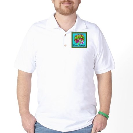 Merry Christmas Clown Golf Shirt