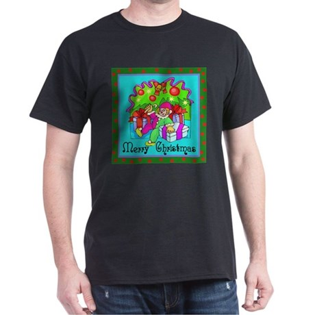 Merry Christmas Clown Dark T-Shirt