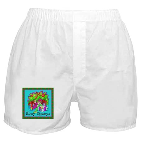 Merry Christmas Clown Boxer Shorts