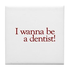 I Wanna be a Dentist (Hermey) Tile Coaster