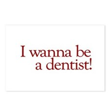 I Wanna be a Dentist (Hermey) Postcards (Package o