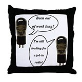 Tube Cartoon Throw Pillow