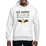 Army My Soldier is defending Hooded Sweatshirt