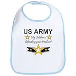 Army My Soldier is defending Bib