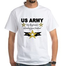 Army My Boyfriend is defendin Shirt