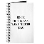 Kick Their Ass, Take Their Ga Journal