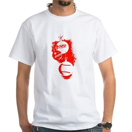 Christmas Ornaments White T-Shirt