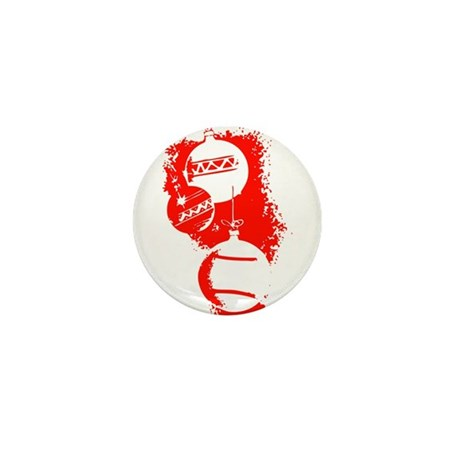 Christmas Ornaments Mini Button (10 pack)