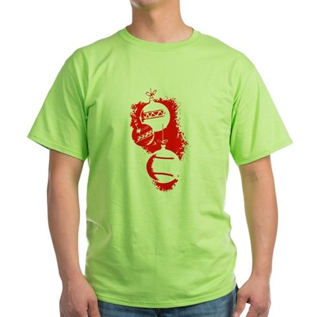 Christmas Ornaments Green T-Shirt