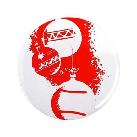 "Christmas Ornaments 3.5"" Button (100 pack)"