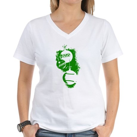 Christmas Ornaments Women's V-Neck T-Shirt