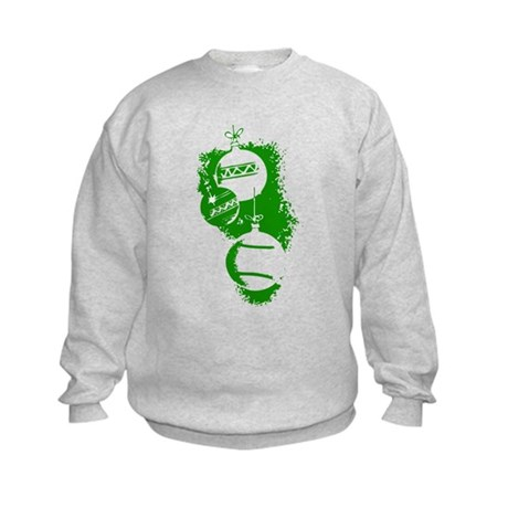 Christmas Ornaments Kids Sweatshirt