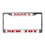 Nana's New Toy License Plate Frame