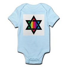 STAR OF DAVID Infant Creeper