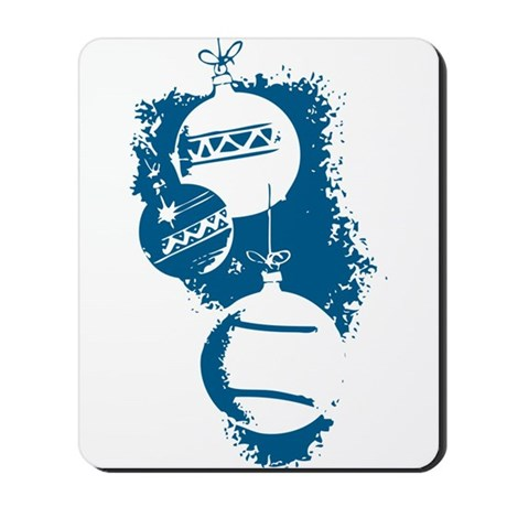 Christmas Ornaments Mousepad