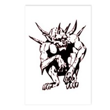 Cool Gargoyle Postcards (Package of 8)