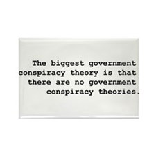 Conspiracy Rectangle Magnet (100 pack)