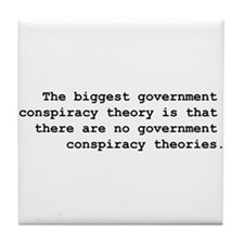 Conspiracy  Tile Coaster