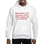 Ignoranus Hooded Sweatshirt