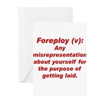 Foreploy Greeting Cards (Pk of 10)