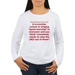 Prayer 1 Women's Long Sleeve T-Shirt