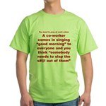 Prayer 1 Green T-Shirt